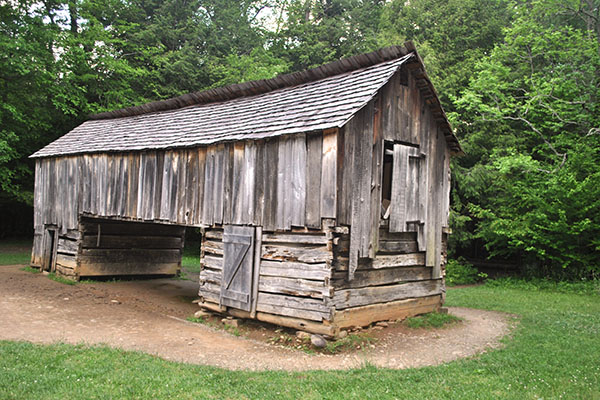 Historic Cades Cove barn