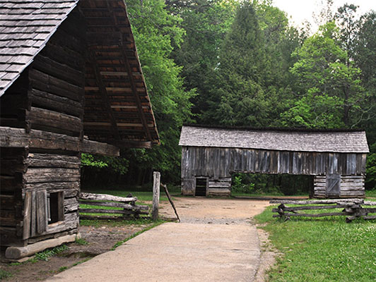 Historic Cades Cove Barns
