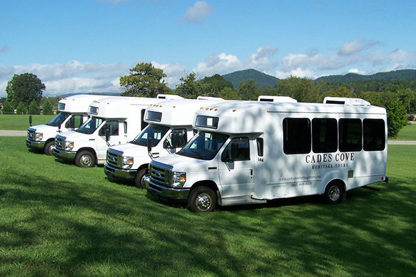 Cades Cove Tour Buses