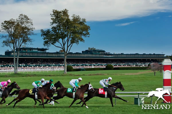Keeneland Horse Derby Racing