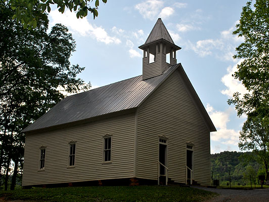 Historic Cades Cove Methodist Church